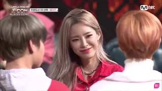 Heize being soft for Daehwi ??????