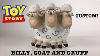 CUSTOM BO PEEP'S SHEEP (BILLY, GOAT AND GRUFF)