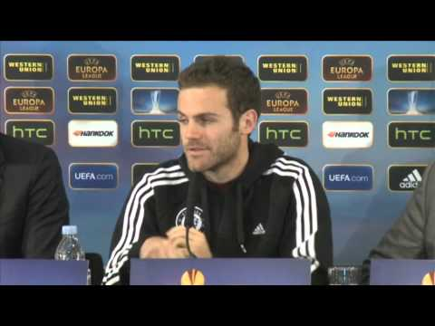 Juan Mata on Benitez & the Europa League