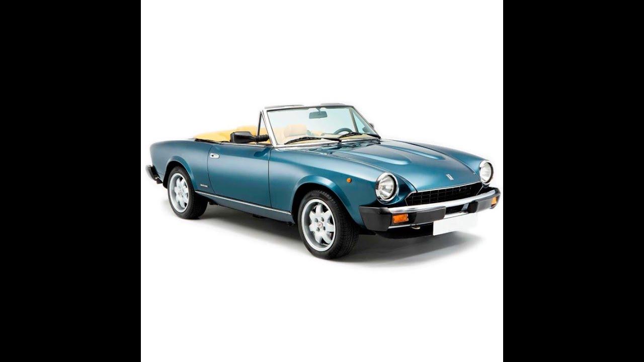 Fiat 124 Sport Spider Service Manual Repair Manual Wiring Diagrams Youtube