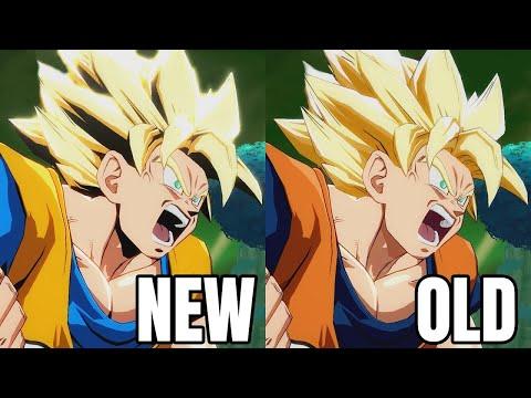 dragon-ball-fighterz---new-goku-day-manga-colors-vs-goku-original-colors-comparison-gameplay-hd