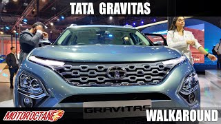 New Tata Safari - Hit hai Boss | Auto Expo 2020 | Hindi | Motoroctane