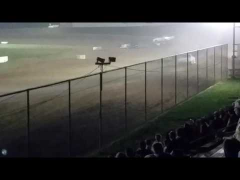 Brownstown Speedway 7-16-2016 Pure Stock Feature Race