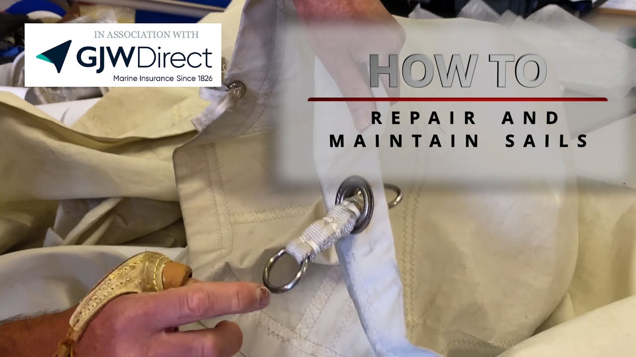 How to repair a sail - Yachting Monthly
