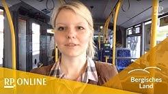 Mit der Buslinie 260 von Köln nach Remscheid