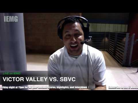LIVE FOOTBALL! Victor Valley Vs. San Bernardino Valley (11-9-19) @ City Of San Bernardino, Ca.