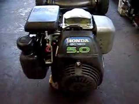 Honda Gc160 5 0hp Horizontal Crankshaft Engine Youtube
