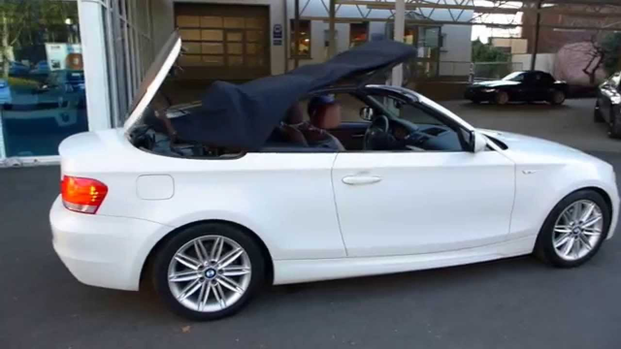 bmw 120 cabrio m paket for sale youtube. Black Bedroom Furniture Sets. Home Design Ideas