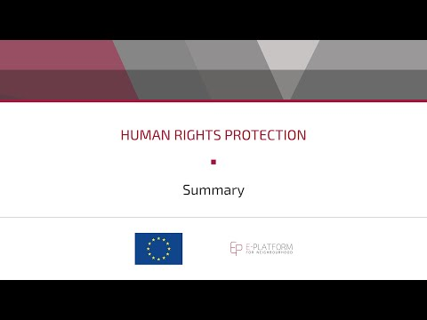 Human Rights Protection - Summary