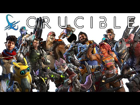 Crucible: ALL Character Reveals | Crucible Hunter Reveal Videos