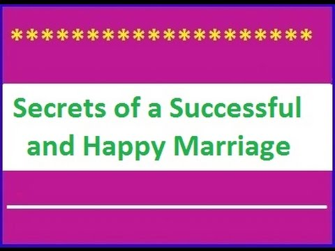 8 Essentials for a Successful Marriage