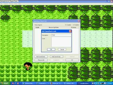 VBA Emulator Pokemon Silver Cheats : Shiny Pokemon