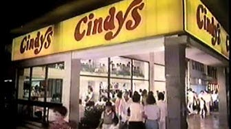 Cindys 80s Commercial