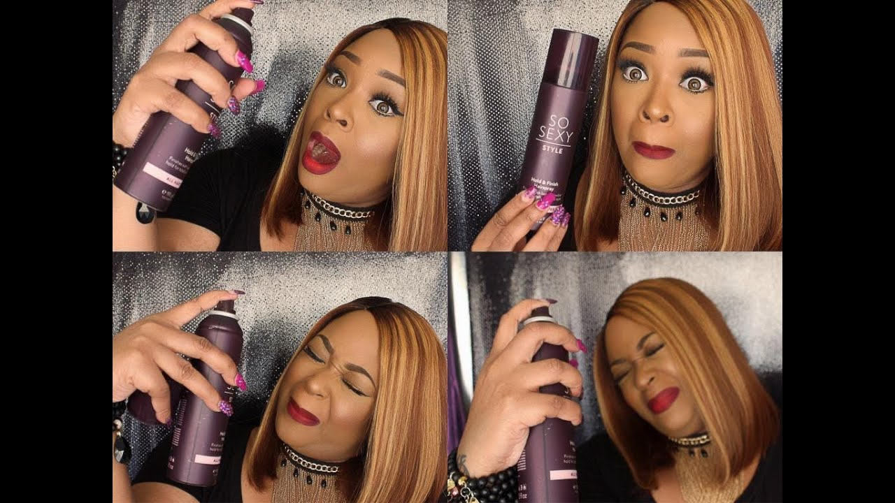 Image result for makeup hairspray method