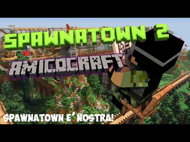 Minecraft ITA - Costruzione città in minecraft - La Storia di Spawnatown #2 - [Amicocraft]]