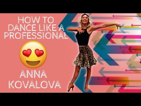 How to dance like a professional | Latin Ballroom lesson | Anna Kovalova