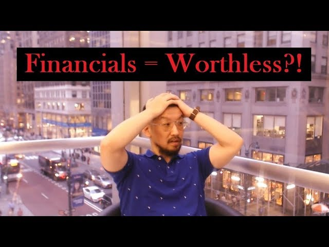 Are Financial Statements Worthless???