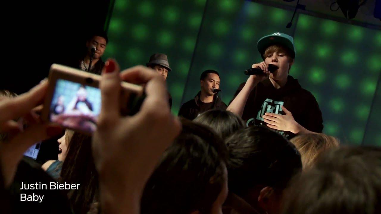 "Justin Bieber - ""Baby"" in Concert | iHeartRadio Live - YouTube"