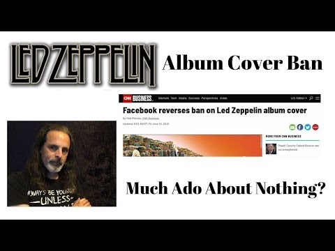 Led Zeppelin Album Cover Banned? - YouTube