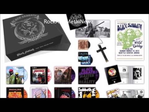 "Black Sabbath announce  ""The Ten Year War"" vinyl box set!"