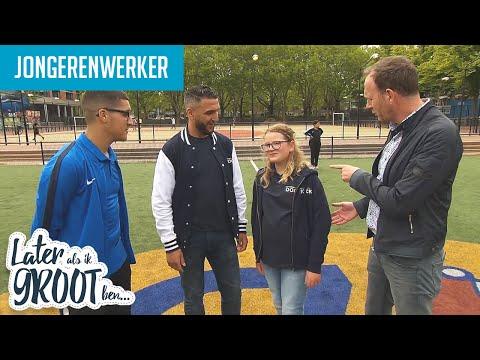 JOELLE ZET ZICH IN VOOR DE JEUGD. DAG WERKEN ALS JONGERENWERKER | Later Als Ik Groot Ben (RTL4)
