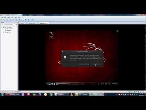 Installing Backtrack Linux