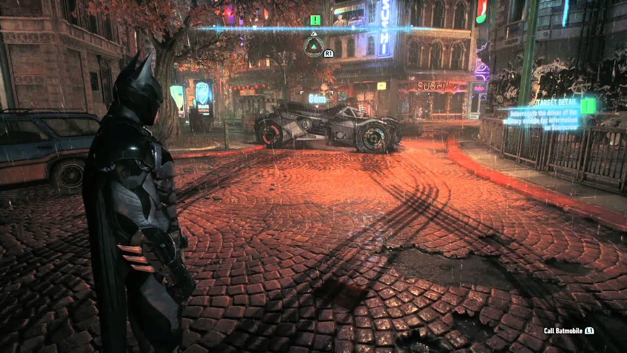 All Ps4 Launch Games : Batman arkham knight ps game footage youtube