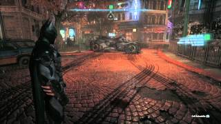 Batman Arkham Knight  | PS4 Game Footage