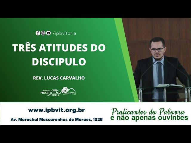 Rev. Lucas Carvalho - Esdras 7.10
