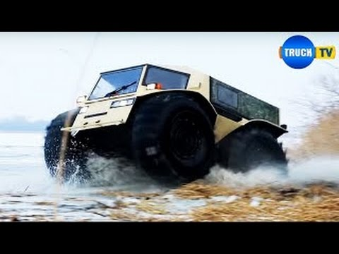 EXTREME OFFROAD Extreme Off Road Russian Amphibious SHERP Vehicle EXTREME OFFROAD