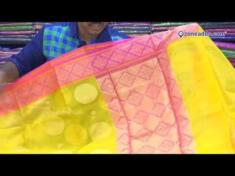 Banaras Chanderi Sarees | Kota Silk Sarees | Sakhi Fashions | AS Rao Nagar | Episode3 | zoneadds.com