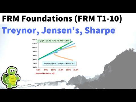 RAPMs: Treynor, Jensen's, Sharpe (FRM T1-10)