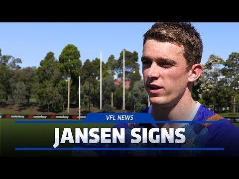Chris Jansen signs with VFL side (December 11, 2017)