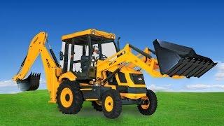 Backhoe for kids - Caterpillar Backhoe digging holes - Construction Equipment