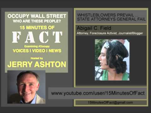 15 Minutes Of Fact : WHISTLEBLOWERS PREVAIL -- STATE ATTORNEYS GENERAL FAIL