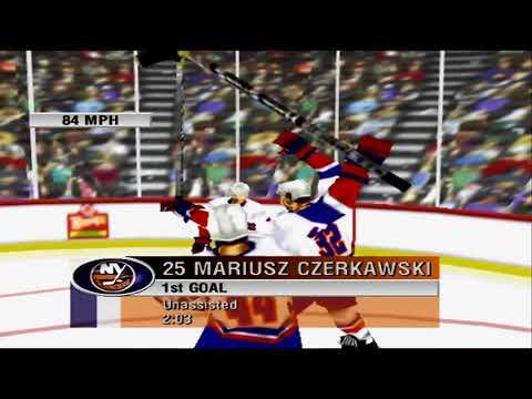 NHL 99 (N64) Senators vs Islanders