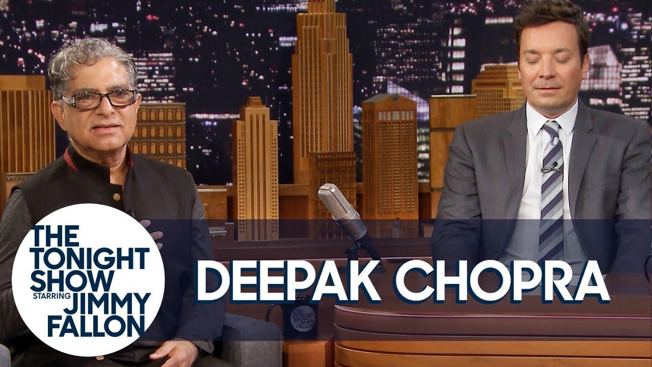Deepak Chopra Guides Jimmy Through Meditation