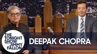 Deepak Chopra Guides Jimmy Through Meditation