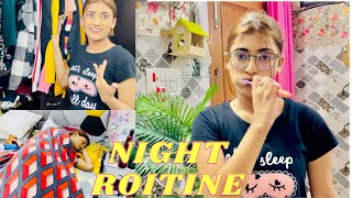 My NIGHT ROUTINE | SAMREEN ALI VLOGS