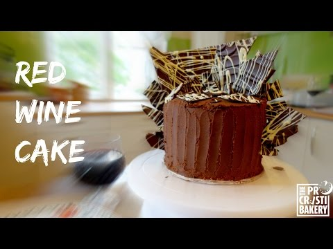 How to make Red Wine Cake
