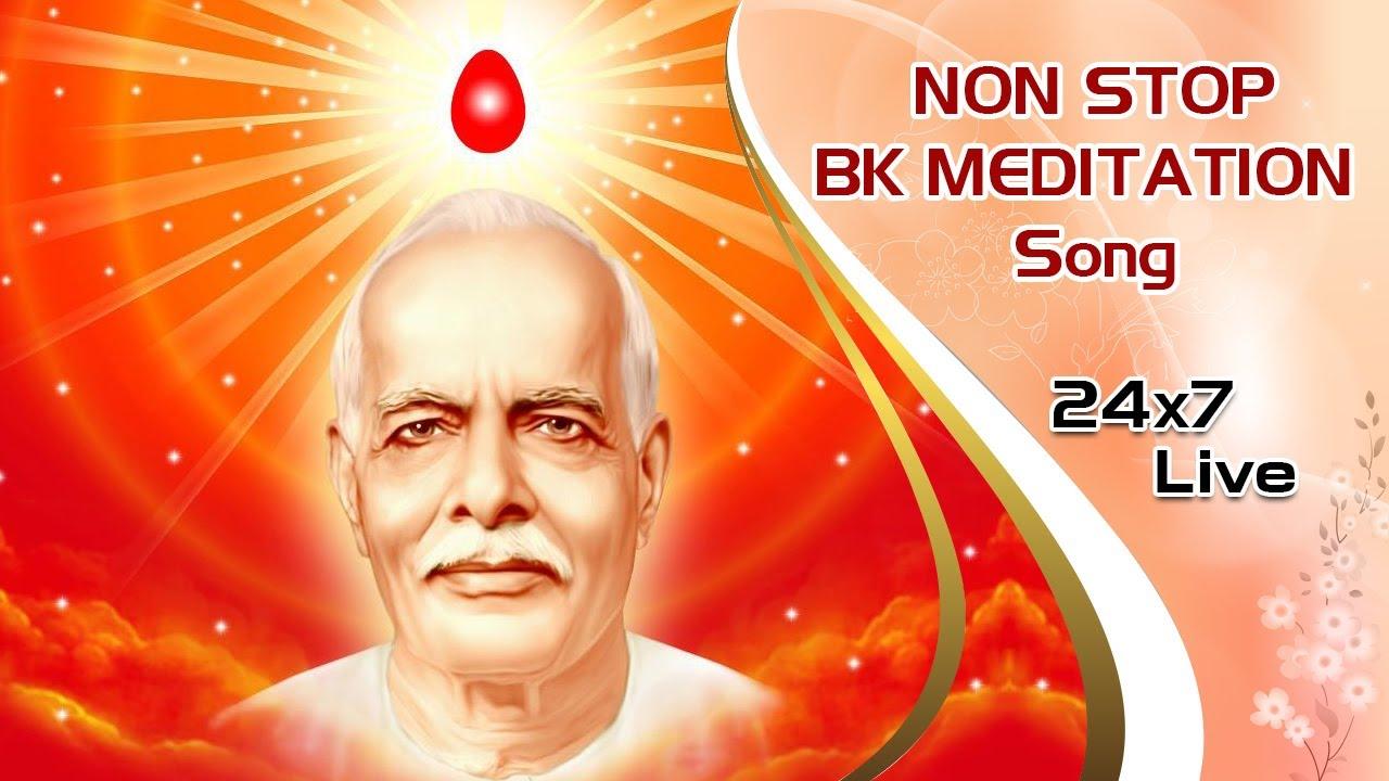 LIVE 🔴 Brahmakumaris Non Stop Meditation Songs। BK Non-stop Divine Songs। BK Live Divine Songs