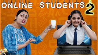 ONLINE STUDENTS Part - 2 | Parents during online classes | Types of Mom | Aayu and Pihu Show Thumb
