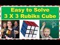 Easily Solved 3 x 3 Rubiks Cube 2017 | आसानी से हल 3 x 3 रूबिक क्यूब 201...