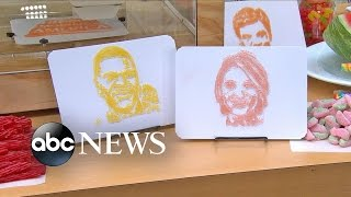 3D-Printer Makes Candy Live On 'GMA'