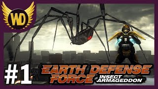 [1]Let's Play Earth Defense Force: Insect Armageddon - Part 1 (3P Co-op & Blind)