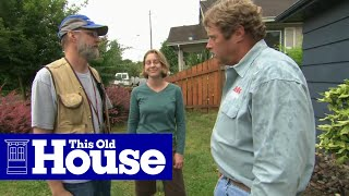 How To Build A Rain Garden - This Old House
