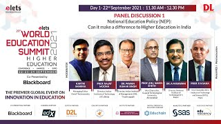 Elets Exclusive: National Education Policy : Can it make a difference to Higher Education in India