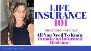 Life Insurance 101  webinar presented by Diana Polyakov Insurance Agent at Insurance Center Helpline