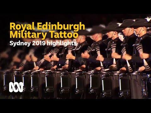 2019 Royal Edinburgh Military Tattoo - Sydney Highlights