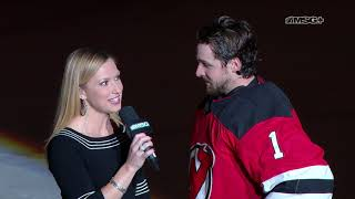 Keith Kinkaid Reflects On Shutout Vs. Stars | New Jersey Devils | Msg Networks
